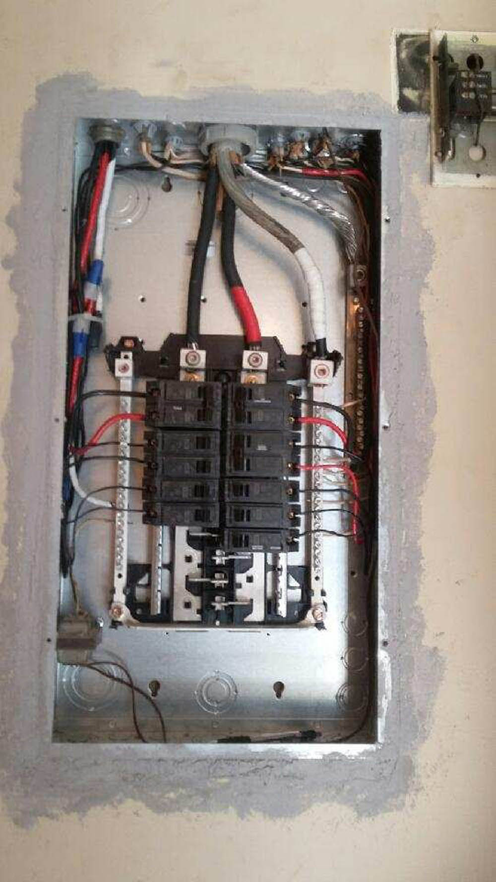 Electrical Panel Replacement Or Upgrade By Licensed Contractor Footer Navigation