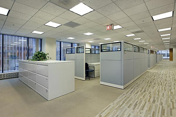Electrical Tenant Improvements in Office Building
